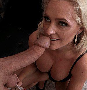Blonde Milf Swallows Big Cock Allvideosx