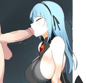 blue blowjob