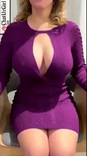 one boob flash