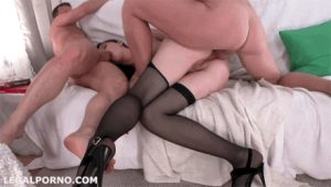 Wife fucked both ends